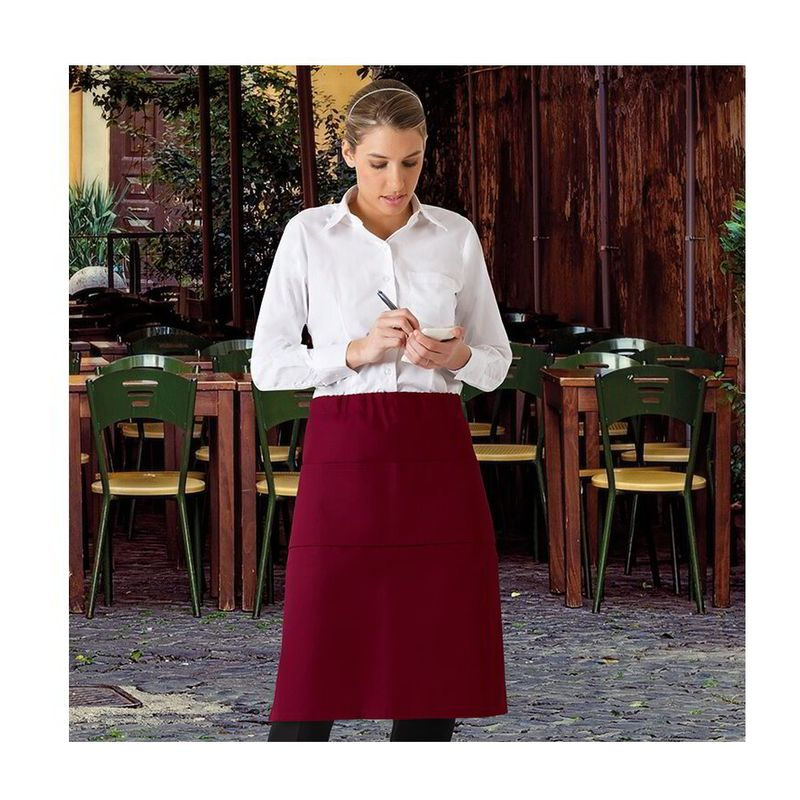 Apron Cabernet SMOKE GREY One Size