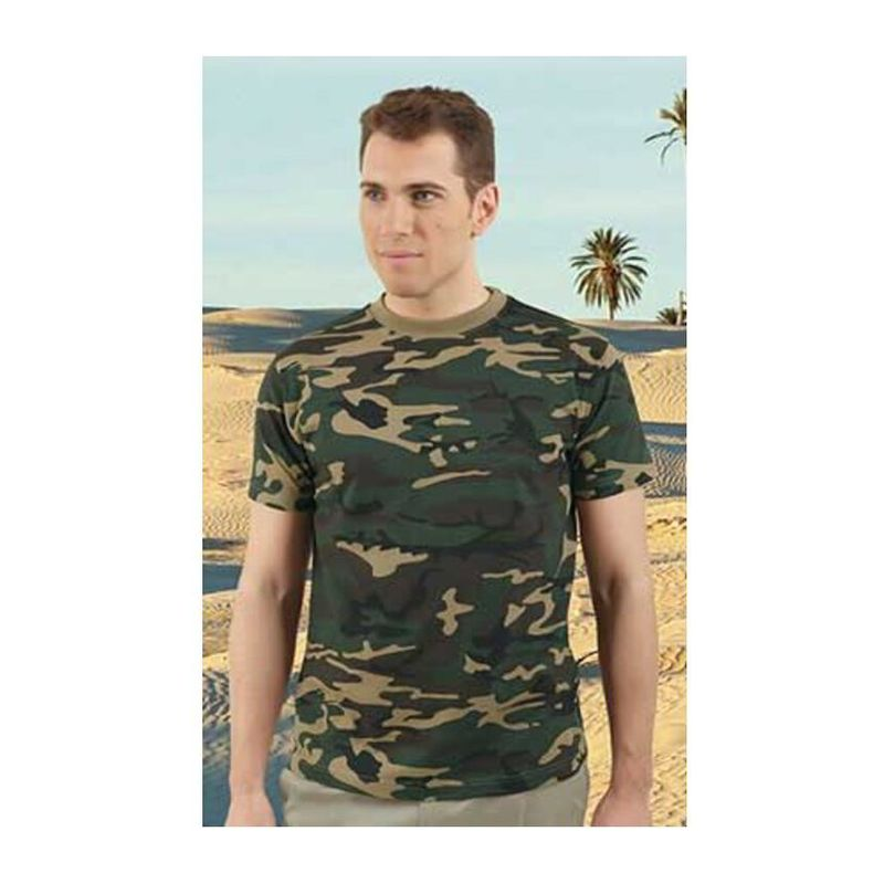 Typed T-Shirt Jungle CAMOUFLAGE