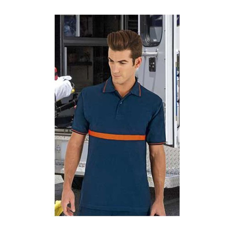 Typed Poloshirt Server ORION NAVY