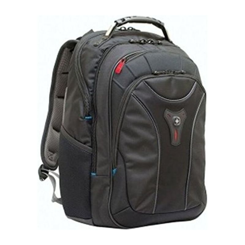 "Carbon 17"" laptop backpack"